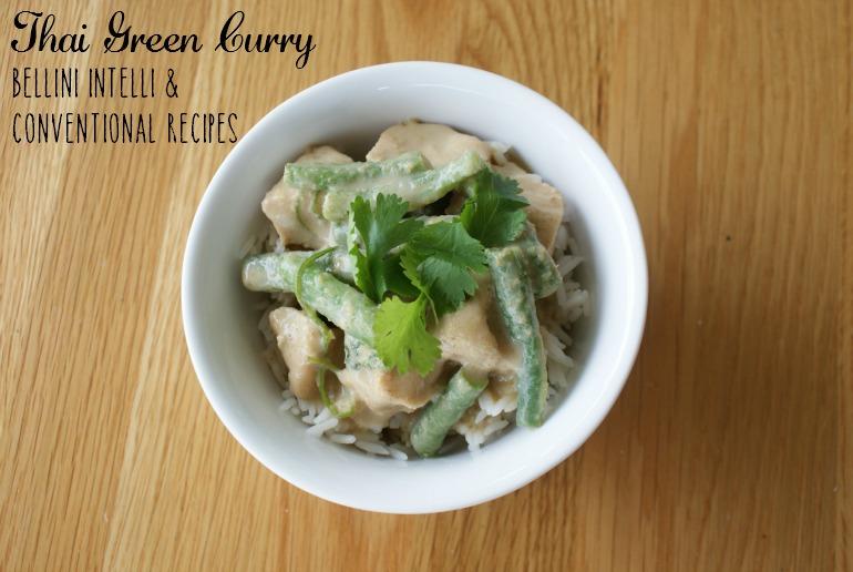 Thai Green Curry Bellini Intelli Recipe + Conventional
