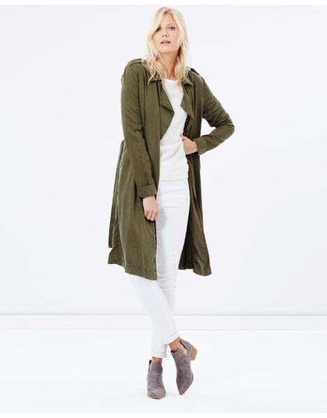 American vintage soft trench