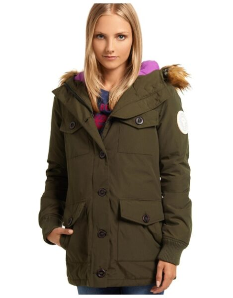 Military Everest Coat from The Iconic