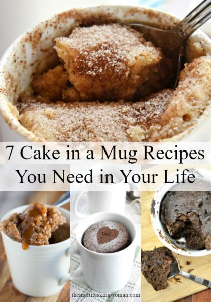 7 Cake in a Mug Recipes You Need in Your Life