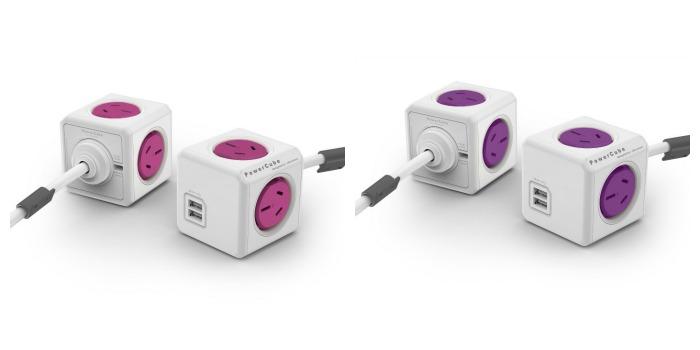PowerCube Pink and Purple