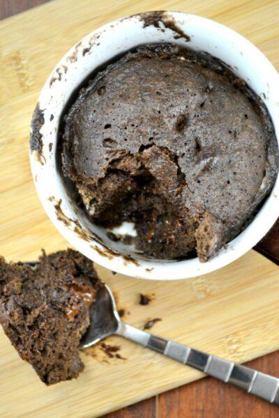 Gluten Free Chocolate Cake in a Mug