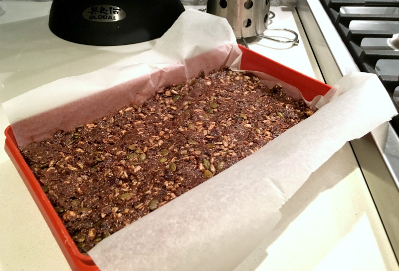 Healthy Choc Protein Bars