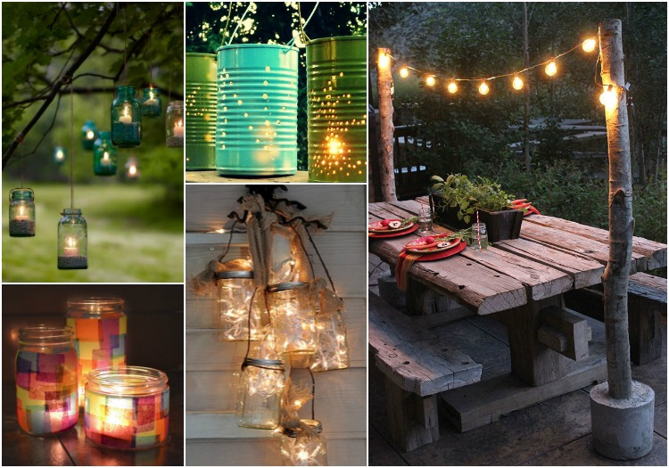 10 chic diy outdoor lighting ideas for your backyard the