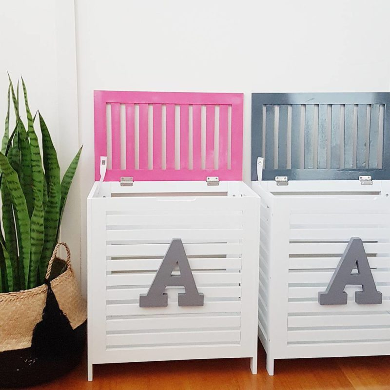 personalised toy box kmart hack