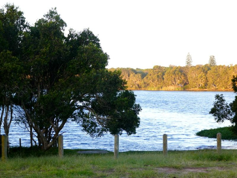 Lake Ainsworth view
