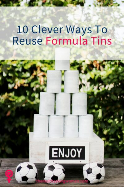 10 clever ways to reuse formula tins