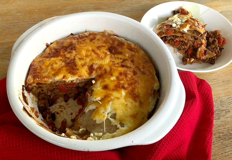 Mexican Lasagne The Healthy Mummy Cook Book
