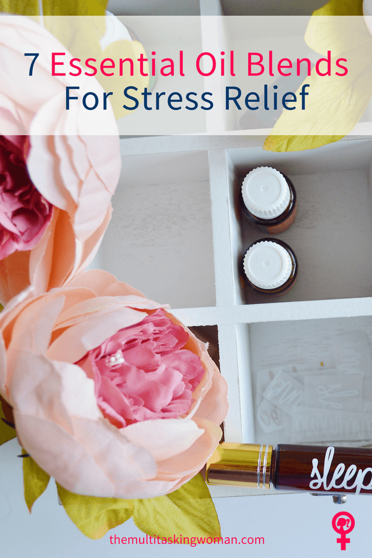 7 essential oil blends for stress relief