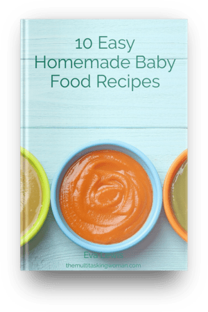 Easy homemade baby food recipes free ebook