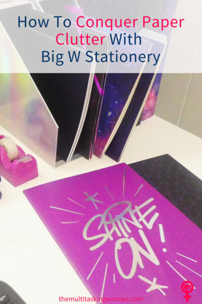 Conquer Paper Clutter with Big W Stationery