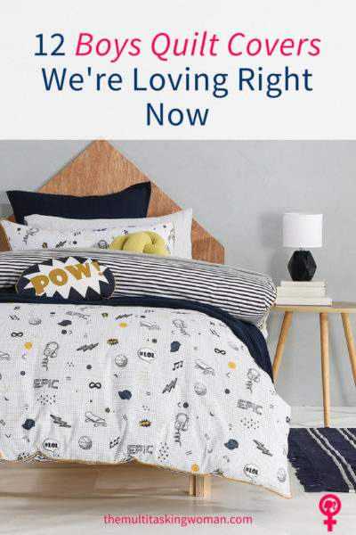 12 Boys Quilt Covers We're Loving Right Now Pin 1