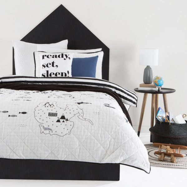 Around the World Boys Quilt Cover Set