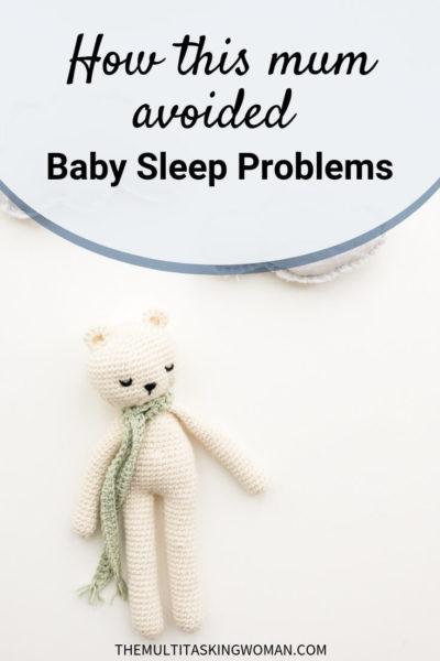 How this mum avoided baby sleep problems