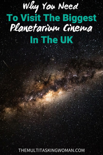 Why You Need To Visit The Biggest Planetarium Cinema In The United Kingdom