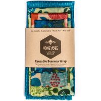 Honeybee Beeswax Wraps