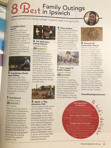 Discover Ipswich Magazine