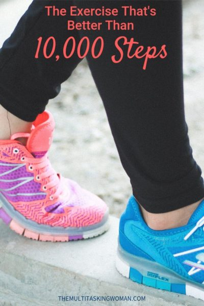 The Exercise That's Better Than 10000 steps