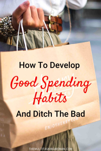 how to develop good spending habits