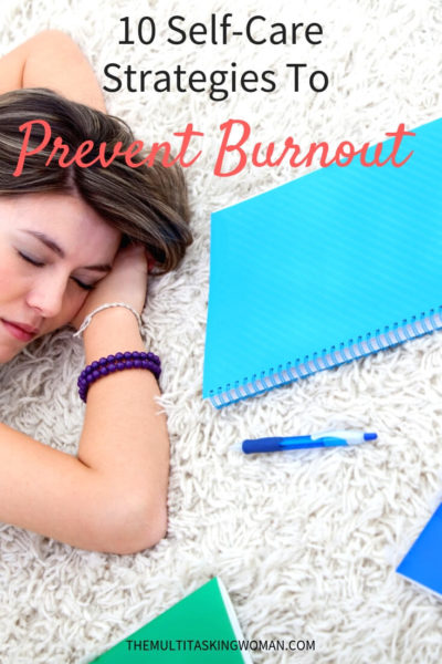 self care strategies to prevent burnout
