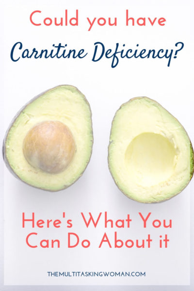 Could you have Carnitine Deficiency