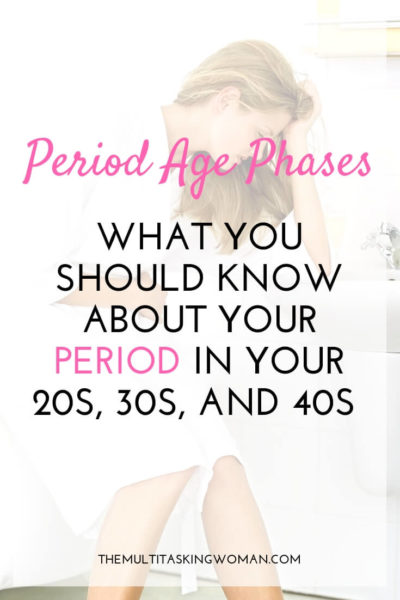 Period age phases - what you should know about your period