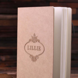 Personalized kraft paper journal