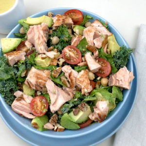 Salmon & Avocado Salad