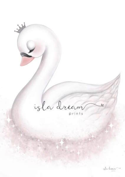Swan Art For Kids