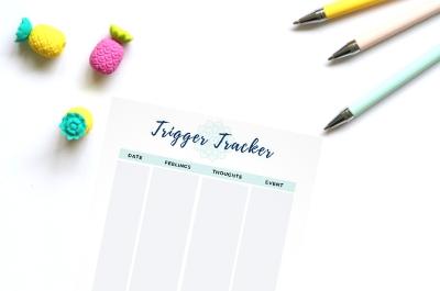 trigger tracker printable