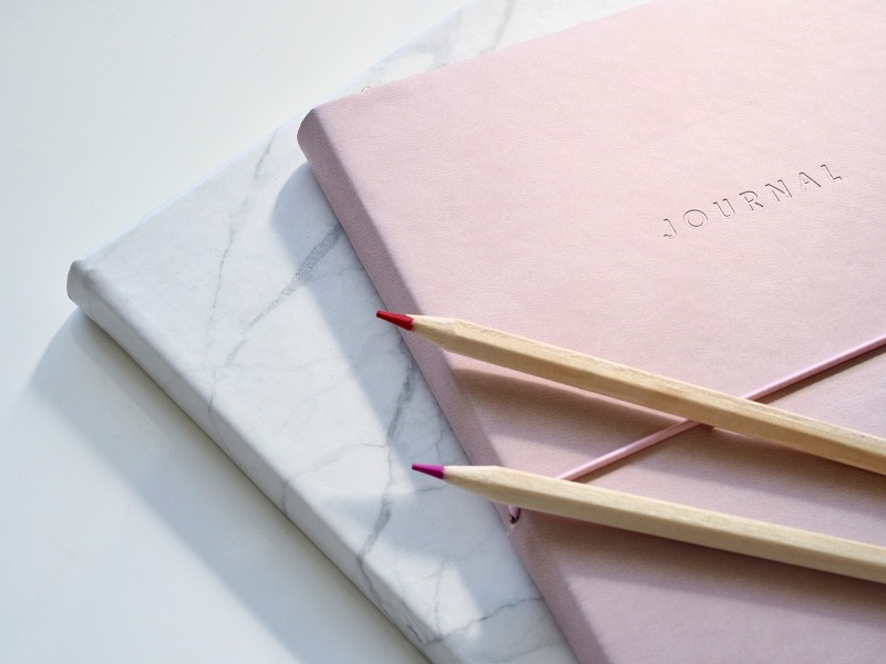 journalling calming strategies