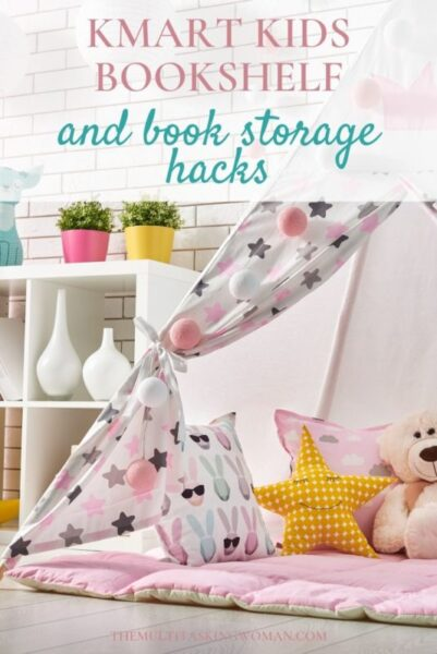 Kmart Book storage hacks