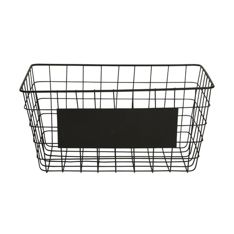 Kmart wire basket for books