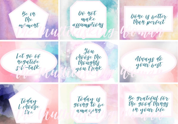 Printable Positive Affirmations Watermarked