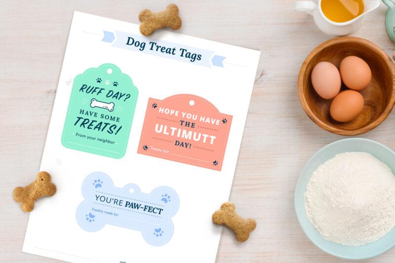 dog treat tags