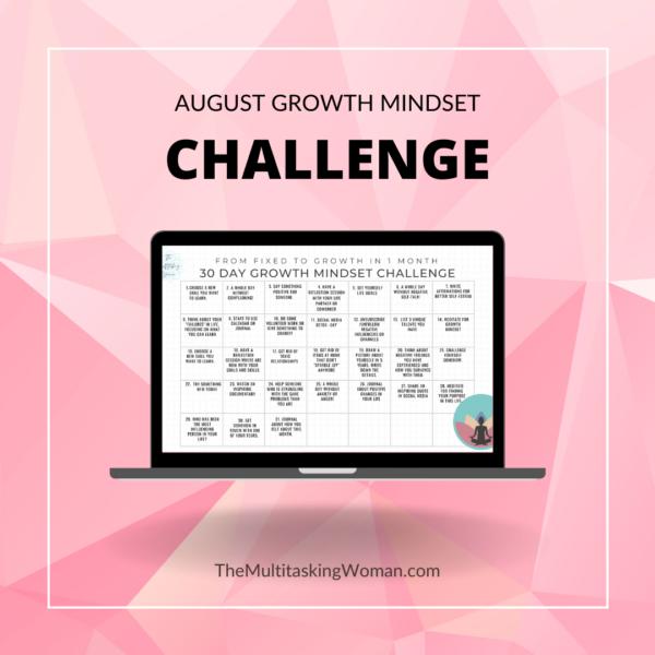 growth mindset challenge